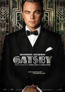 Póster: El gran Gatsby (Baz Luhrmann, 2.013)