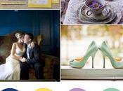 Colour Board #50. Monaco blue, lemon zest, african violet, greyed jade