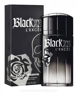 Perfumes Importados.Paco Rabanne.BLACK XS L Exces .