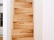 Escaleras para aprovechar espacio