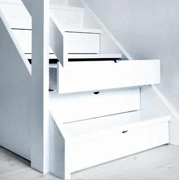 Escaleras para aprovechar el espacio paperblog - Aprovechar el espacio ...