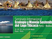 Seminario Internacional: Ecología manejo sostenible Lago Titicaca, Perú Bolivia. Universidad Tecnológica Boliviana