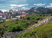 Imagen ciclismo pelotón durante tramo tercera etapa Giro Italia