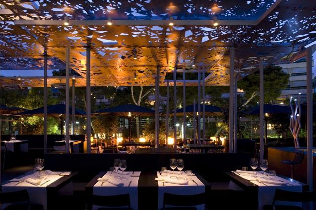 El restaurante y lounge club nuba barcelona abre las - Iluminacion de terrazas ...