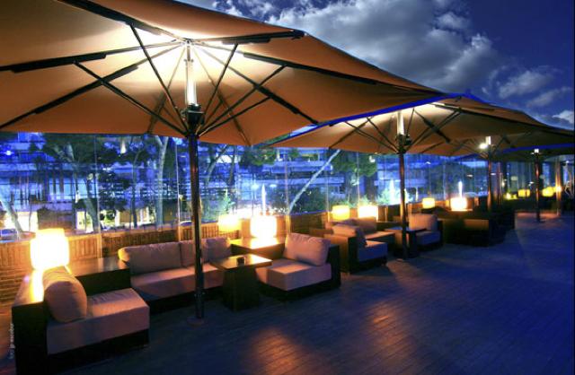 El restaurante y lounge club nuba barcelona abre las for Terrazas de hoteles en barcelona