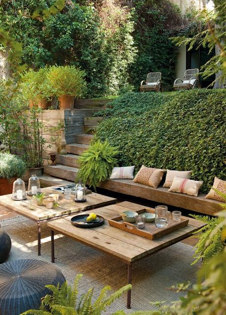 Jardines y terrazas con encanto paperblog for Jardines urbanos en terrazas