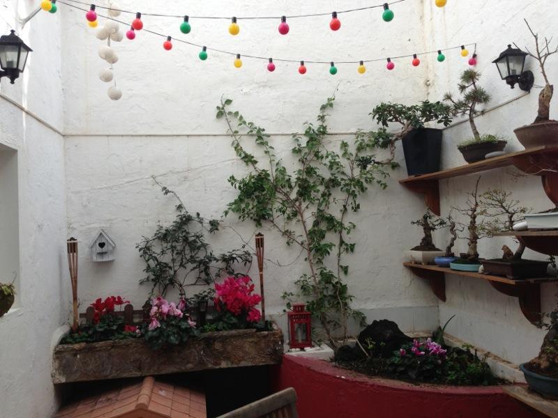 Diy otro peque o toque de reciclaje paperblog - Como decorar mi patio pequeno ...
