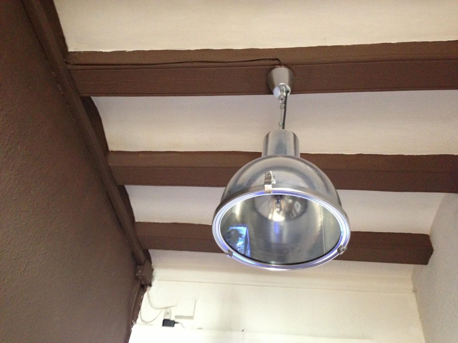 Para casi todos los estilos l mparas industriales paperblog - Lamparas de techo tipo industrial ...