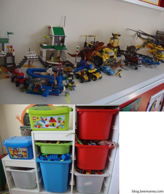 C mo ordenar piezas lego paperblog for Ideas para piezas
