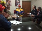 Nuevos accionistas Globovisión Presidente Maduro reunieron Miraflores