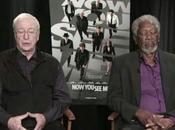 Morgan Freeman queda dormido durante entrevista