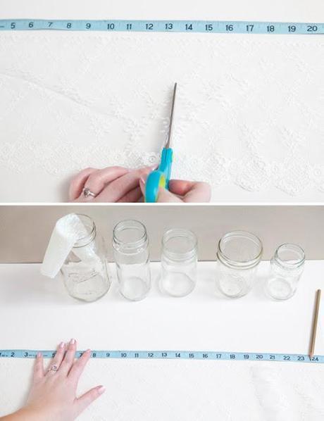 DIY: ¡Decora tus botes de cristal!