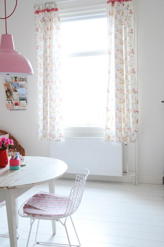 cortinas en viviendas de estilo escandinavo paperblog