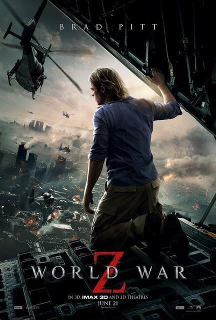 Barra libre de Photoshop en los últimos carteles de 'Guerra Mundial Z'