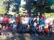 Escolares Tenerife Ciudad Real conviven Valle Jerte junto alumnos Torno