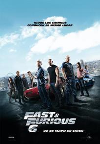 Cartel de Fast & Furious 6