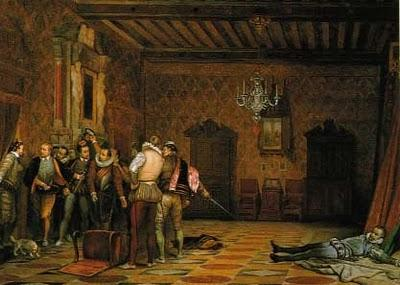 El magnicidio de Enrique III de Francia.