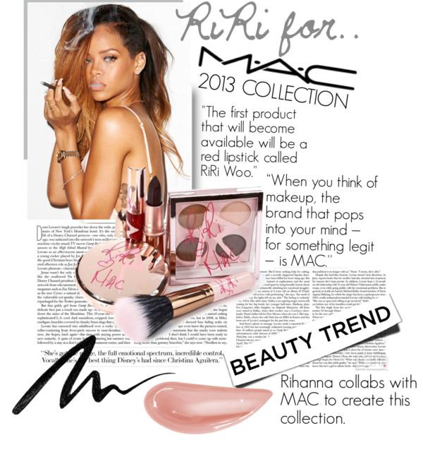 Rihanna + MAC 2013! Sneak Preview.