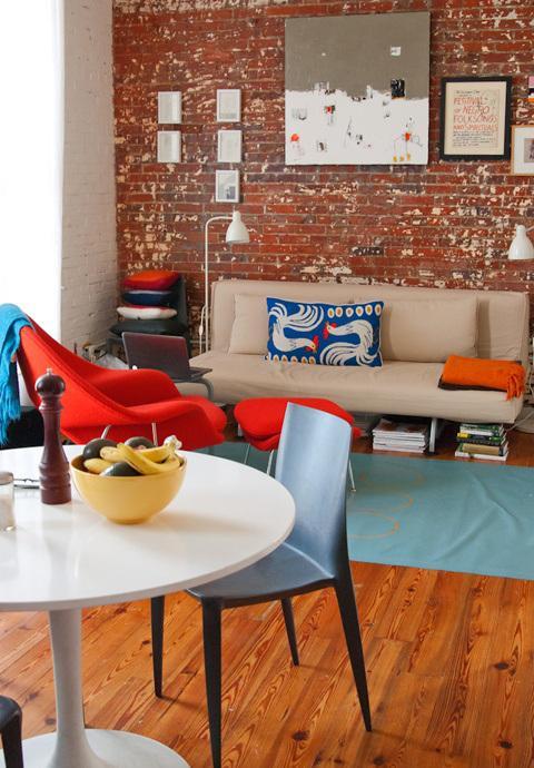 Paredes de ladrillo visto en el interior de las viviendas paperblog - Ladrillo visto interior ...