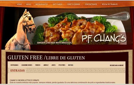 P.F Chang's China Bristo, Un restaurant Gluten Free