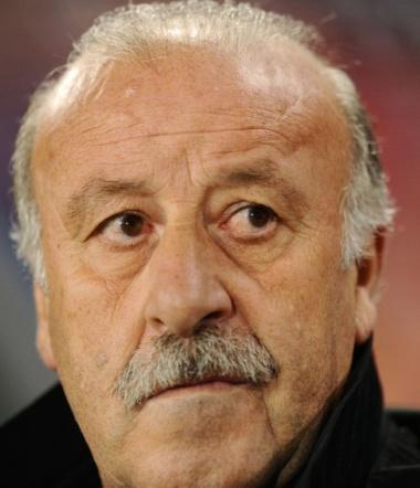 June 21, 2010 - South Africa - Football - Spain v Honduras FIFA World Cup South Africa 2010 - Group H - Ellis Park Stadium, Johannesburg, South Africa - 21/6/10..Spain coach Vincente Del Bosque.