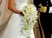 Victoria Suecia, novia radiante, vestida Engsheden
