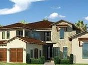 Render hermosa fachada casa Houston