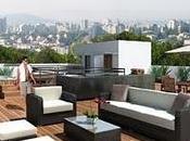 Renders Roof Garden departamentos Mexico