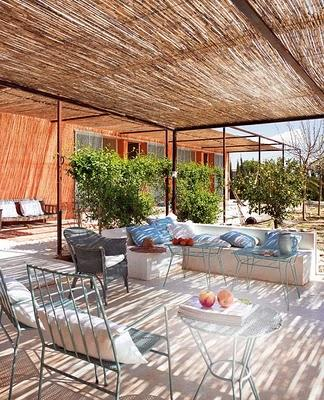 Decoraci n de terrazas y jardines paperblog - Jardin decorado ...