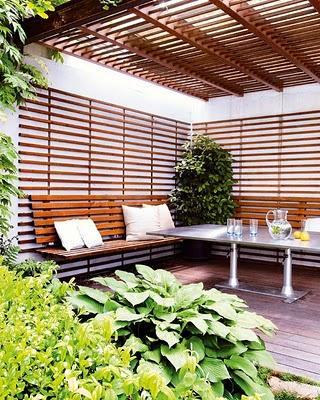 Decoracion De Jardines Y Terrazas Decoracin Del Hogar Prosalocom