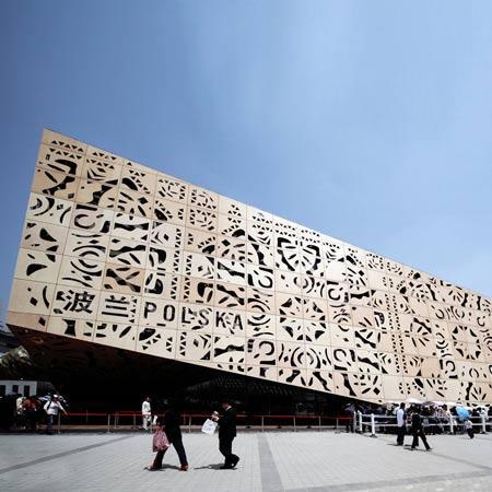 Pabellón de Polonia para la Expo Shanghai 2010 por ...