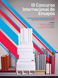III Concurso Internacional de Ensayos Acontecimientos Arquitectónicos