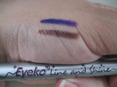 Eyeko Line and Shine Duo color pencil for eyes