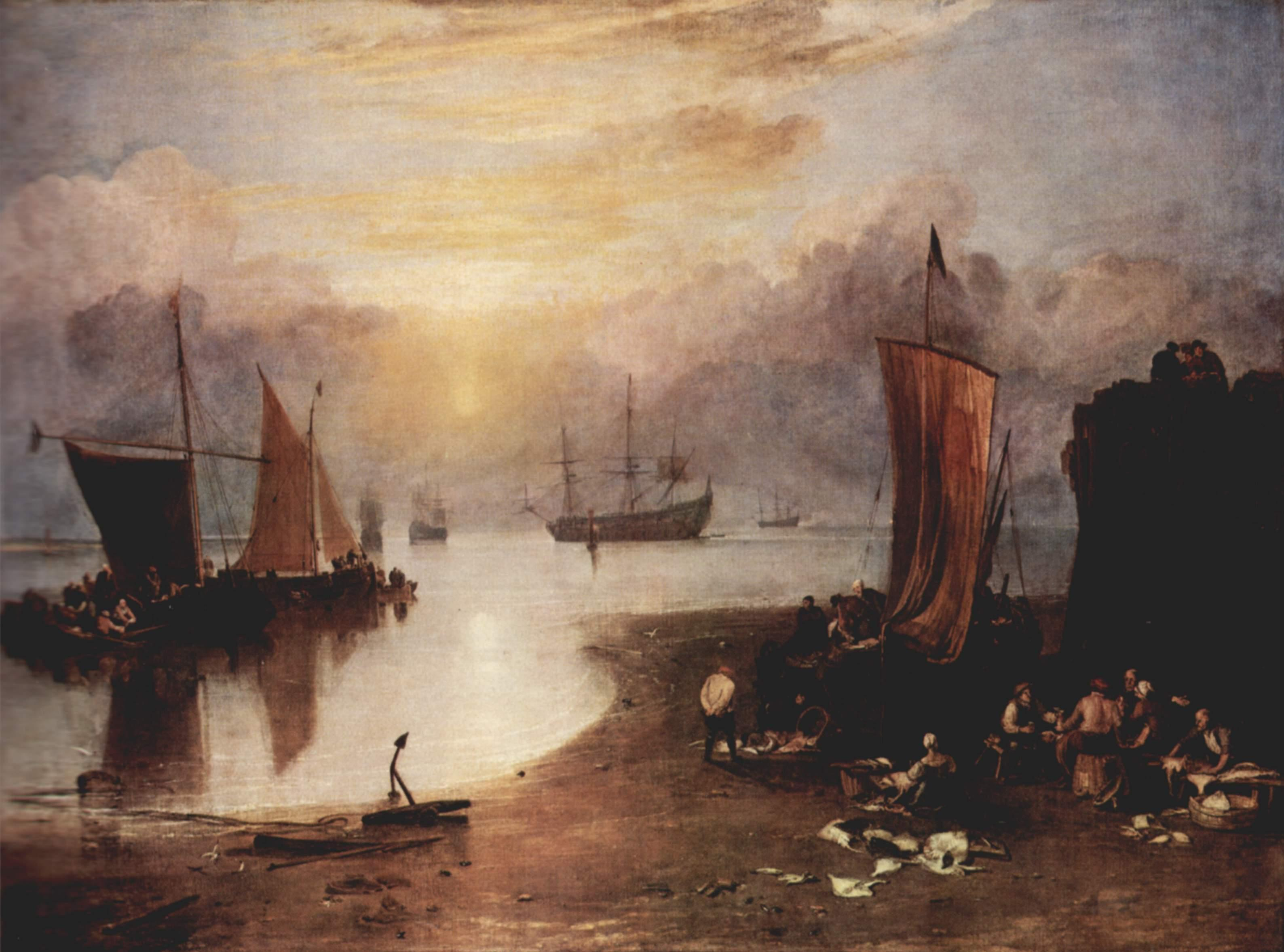 JOSEPH MALLORD WILLIAM TURNER, EL PINTOR DE PAISAJES
