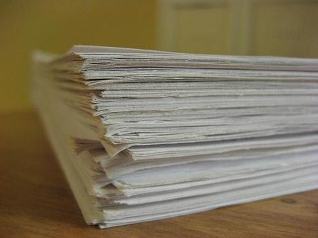 Pila de papeles
