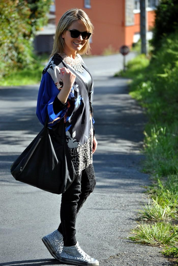 Outfit Low Cost Old Kimono - Paperblog