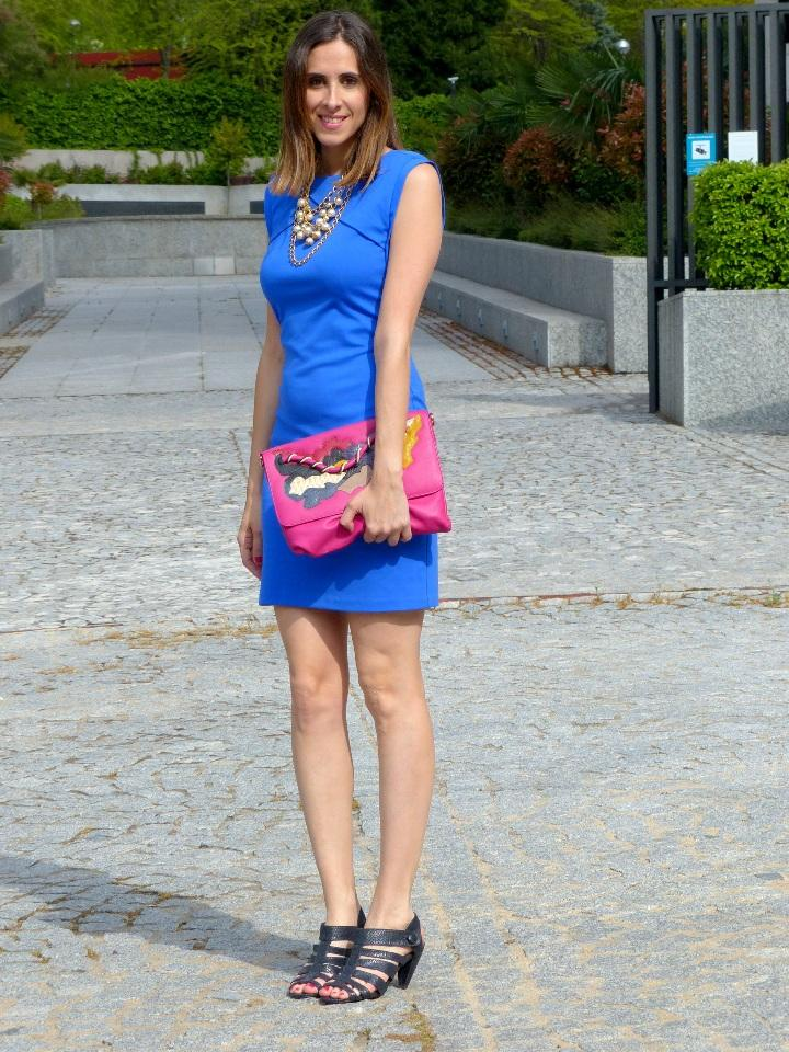 Vestido Azul - Paperblog