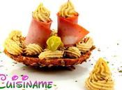 Montaditos Originales Mortadela Hummus