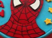 Tarta spiderman técnica puzzle