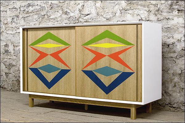 Muebles pintados a mano paperblog - Disenos muebles pintados ...