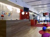 Colorida sede Google Zurich