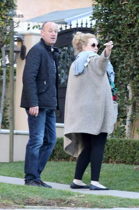 Adele siempre usa fajas en eventos