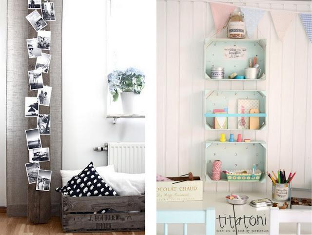 Como decorar cajas de madera imagui for Decora tu cuarto reciclando