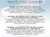 Arenal Sound 2013: Tropical, Xoel López, Second, Dinero, Cyan, Mucho, Alex Ferreira, Última Experiencia...