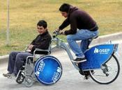 pueden alquilar bicis adaptadas para personas discapacidad Parque General Martín Argentina