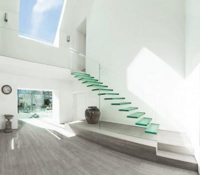 Escaleras interiores minimalistas paperblog - Escaleras de interior modernas ...