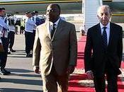 presidente gabonés llega Marrakech