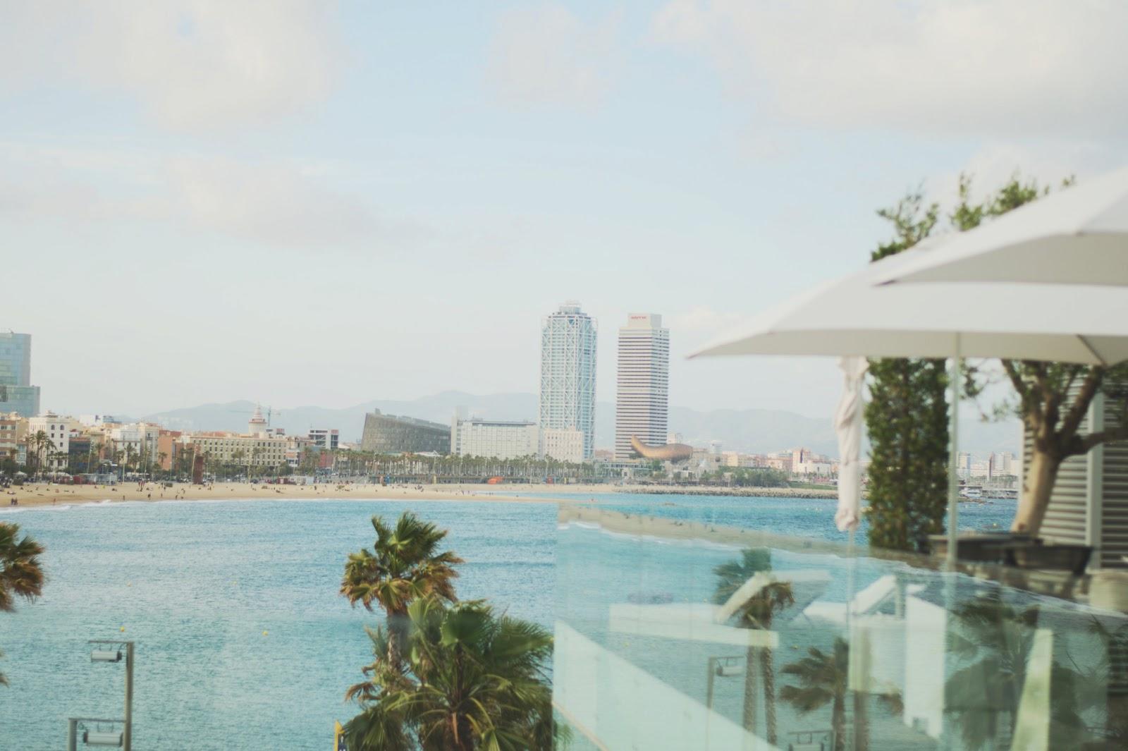 Hotel W Barcelona Terraza