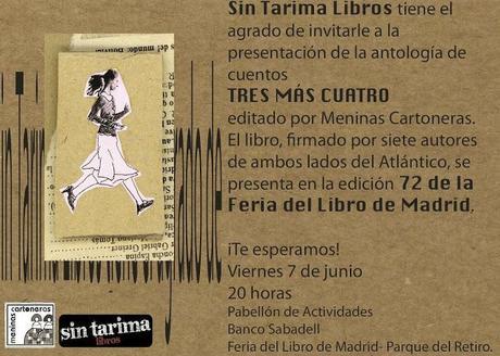 Antología de cuentos de Meninas Cartonera en la Feria del Libro de Madrid