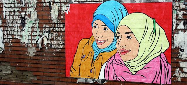 Primera boda de lesbianas musulmanas en el Reino Unido.